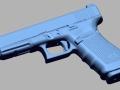 thumbs Glock 41 gen 4 45auto 3D Scanning & Inspection of Weapons