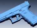 thumbs Glock 19 scan 1 3D Scanning & Inspection of Weapons
