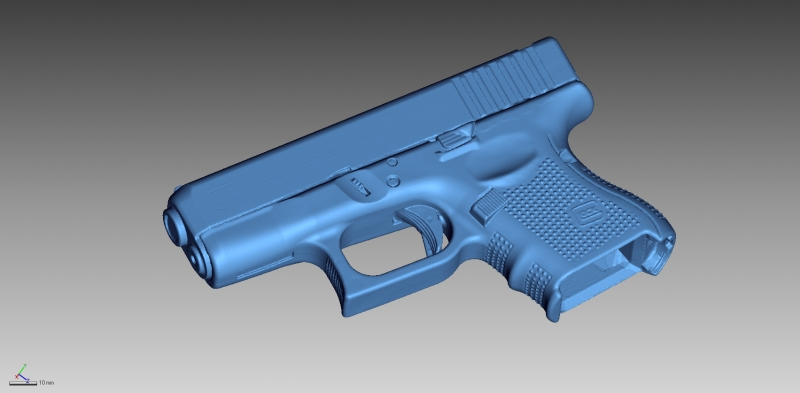 Glock 26 gen 4 3D Scanning & Inspection of Weapons