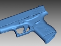 thumbs Glock 43 3D Scanning & Inspection of Weapons