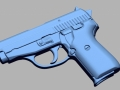 thumbs Sig Sauer P239 9mm para 3D Scanning & Inspection of Weapons