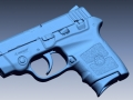 thumbs Smith Wesson Bodyguard scan 1 3D Scanning & Inspection of Weapons