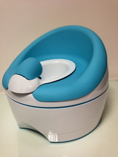 Kids toilet seat 3D Printed model