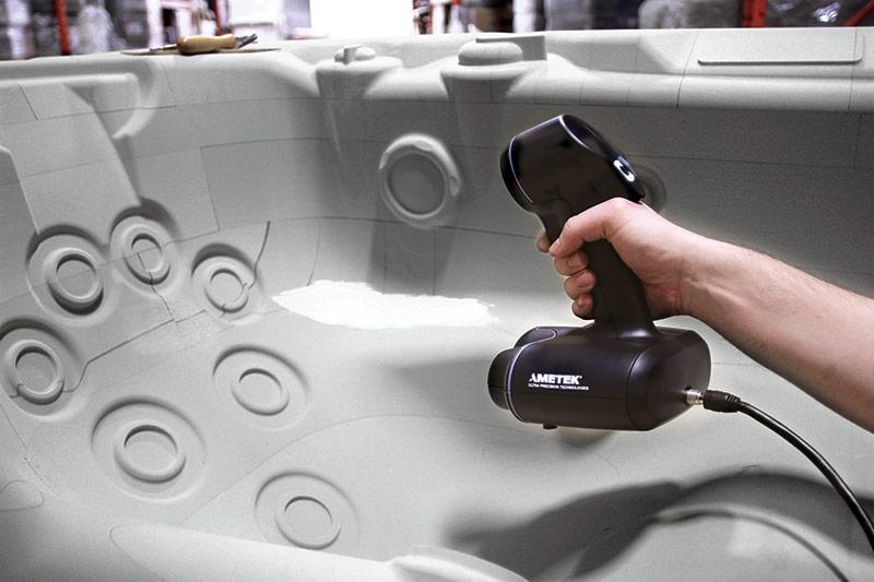 Hot tub 3D scanning