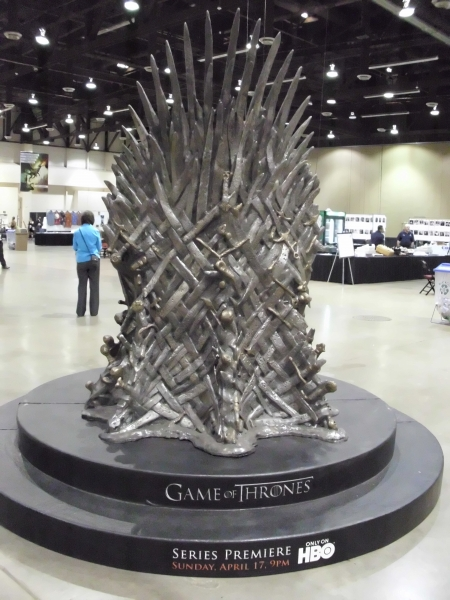 HBO Game Of Thrones Sword Throne