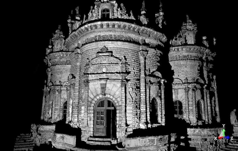 cathedral 3D Scan