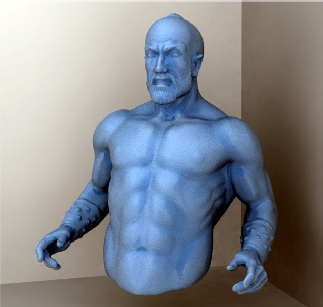 Blue angry guy pirate FORMATTED Freeform