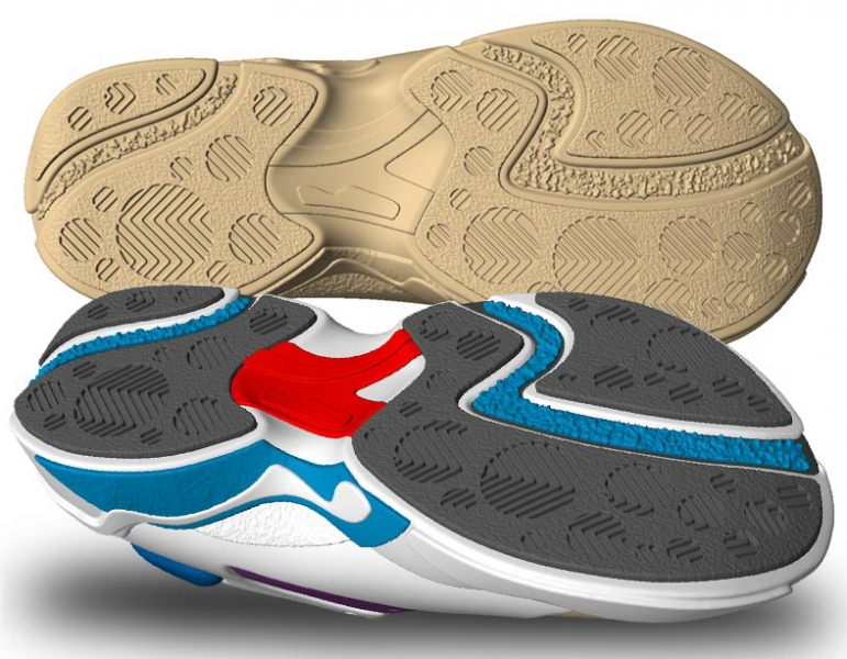Shoe running sole FORMATTED Freeform