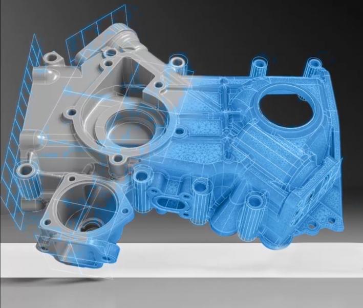 Convert 3D Scan data to CAD data