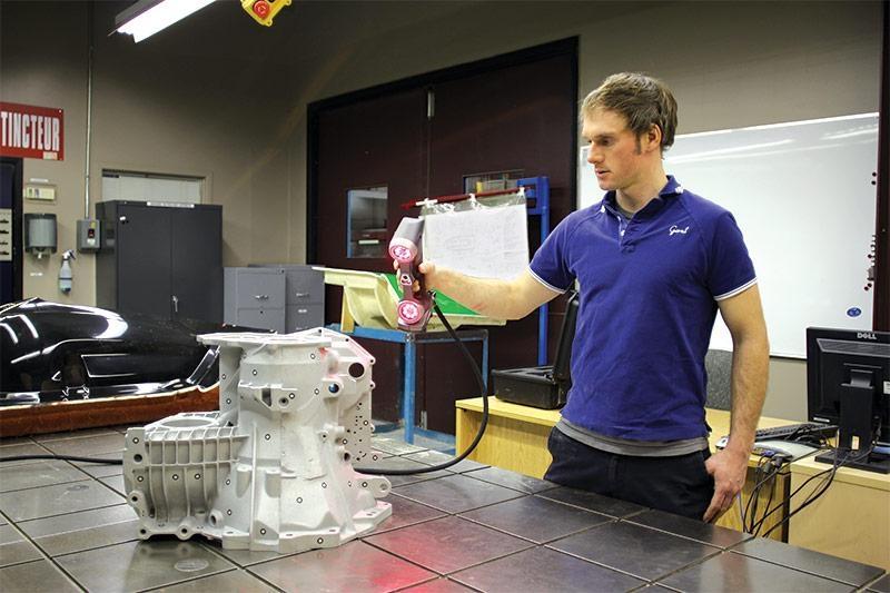 Creaform HandSCAN can quickly scan complex parts