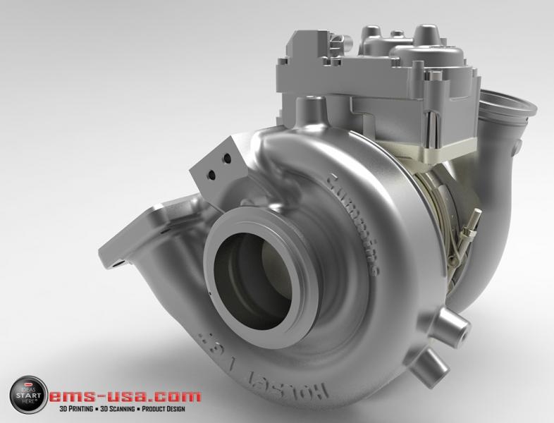 EMS HandySCAN Turbo rendering 4 HandySCAN 3D