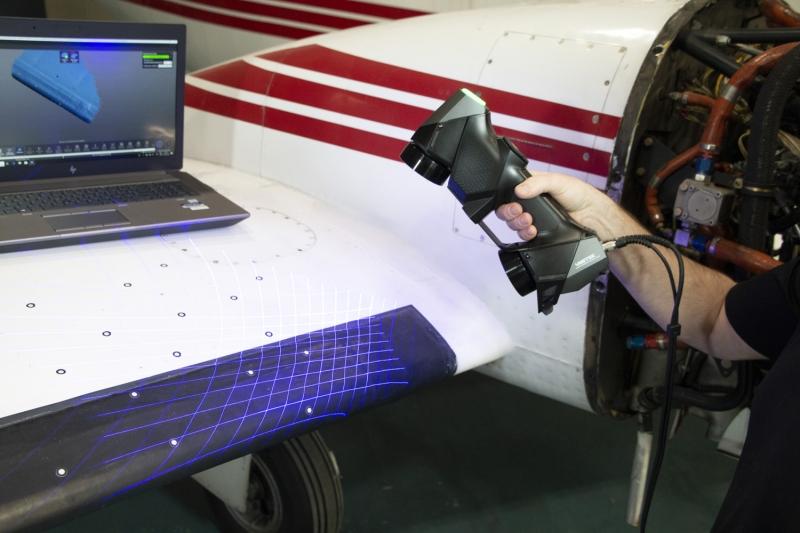 HandySCAN BLACK Elite Aerospace Inspection 1 HandySCAN 3D