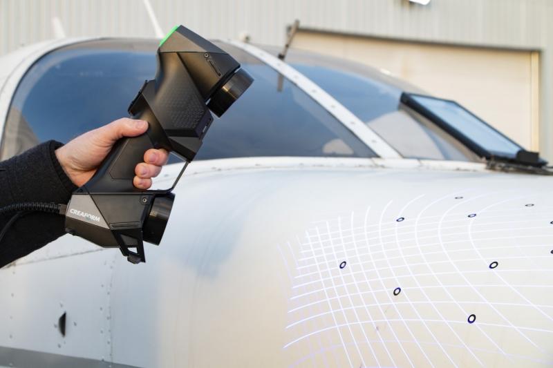 HandySCAN BLACK Elite Aerospace Inspection 2 HandySCAN 3D