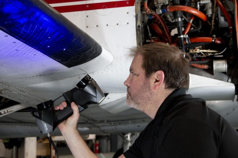 HandySCAN BLACK Elite Aerospace Inspection 3 HandySCAN 3D