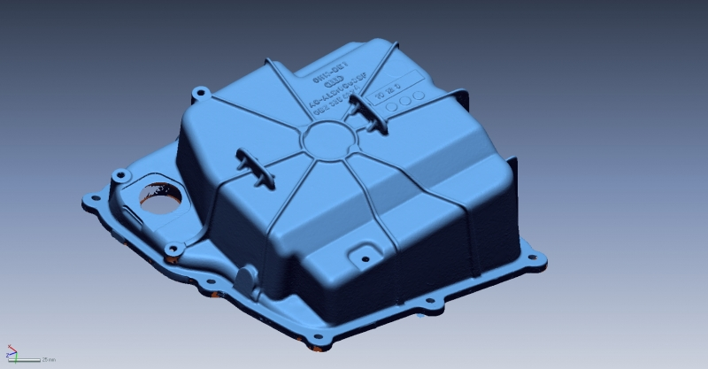 Lamborghini Huracán oilpan 3D Scan data