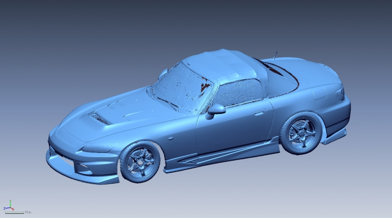 Honda S2000 3D Scan data
