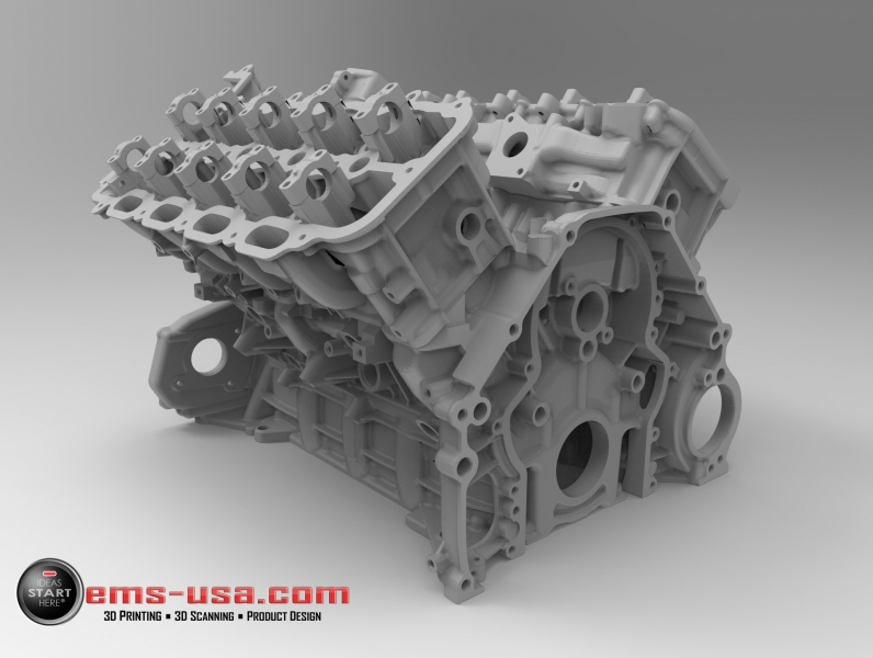 V8 Engine Fully CAD modeled