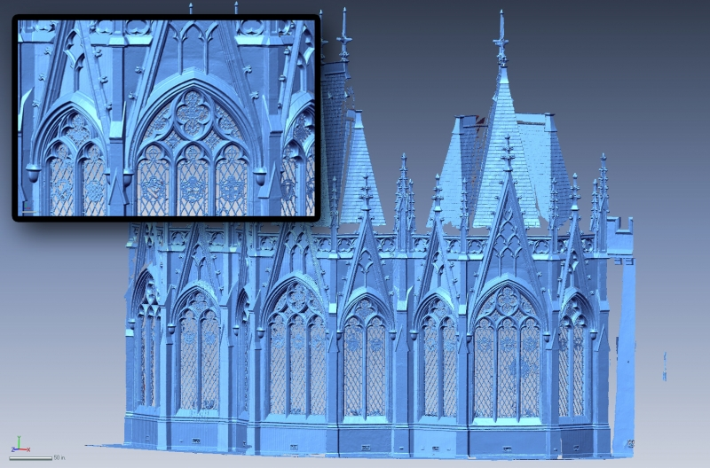 3D Scan of a building