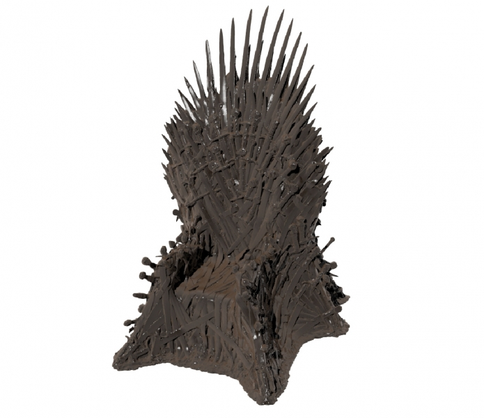 HBO Game Of Thrones Sword Throne  Entertainment & Theme Parks