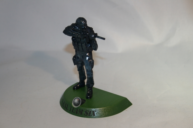 3D Print of Seal Team 6 scan data
