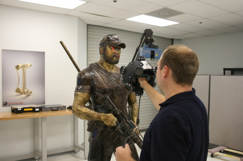 3D Scan of Chris Kyle statue
