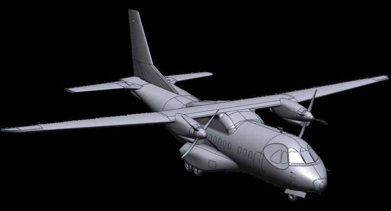 CASA 3D CAD data