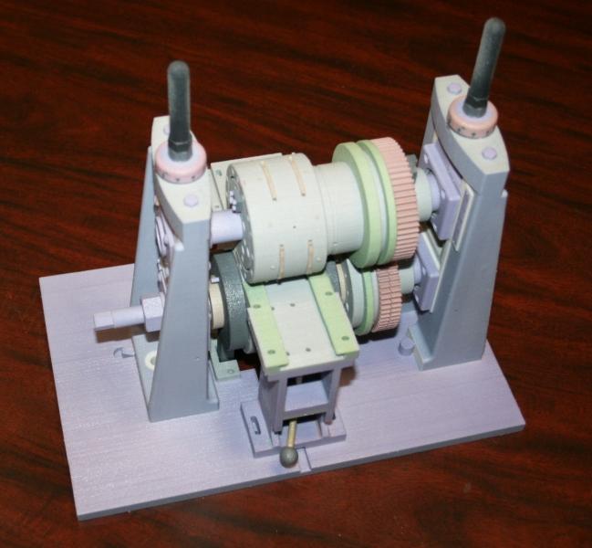 3D print of machinery