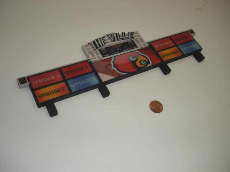 Billboard scale model