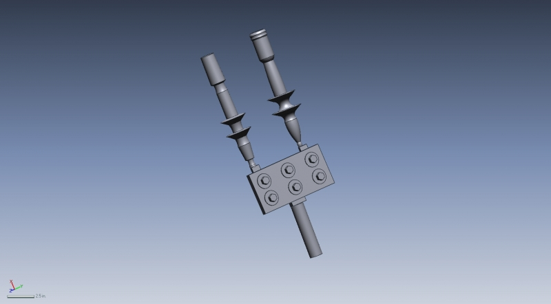 3D Scan of electrical connector