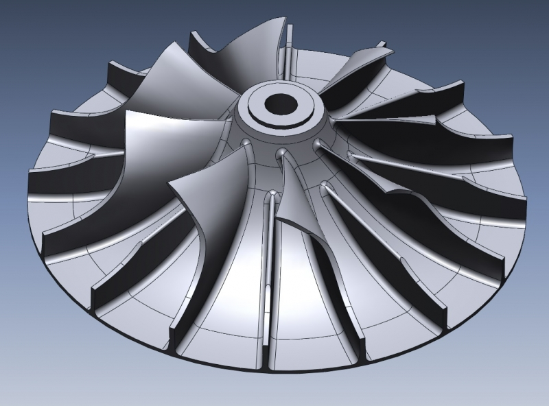 IPS impeller 02 Other Industries