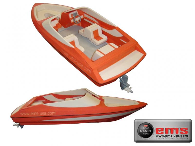 3D Print of a boat