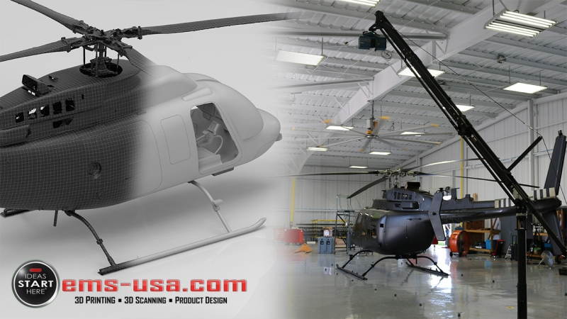 EMS Helicopter Bell Scan Simulators and Trainers