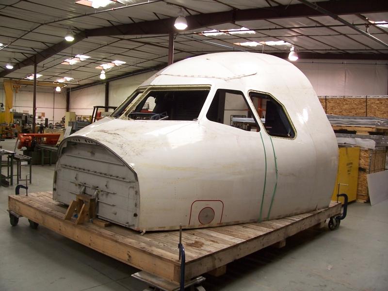 Aircraft shell