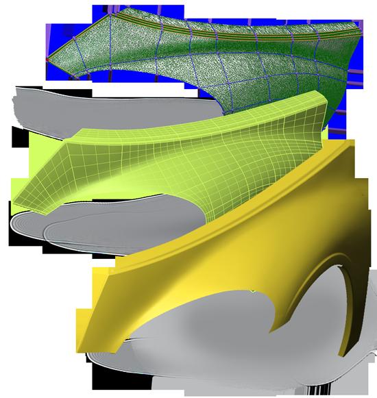 surfacemodeling scaledlaurent Modeler