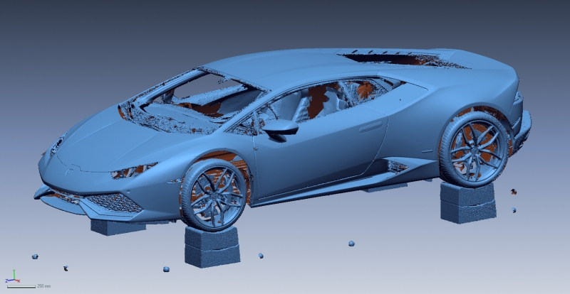 Huracan Scan 1 Reverse Engineering