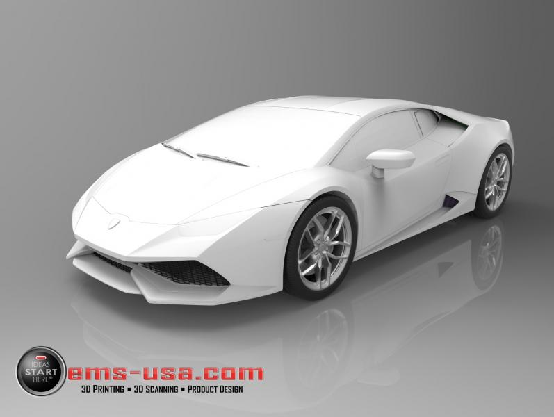 Lamborghini Huracan 6 Reverse Engineering
