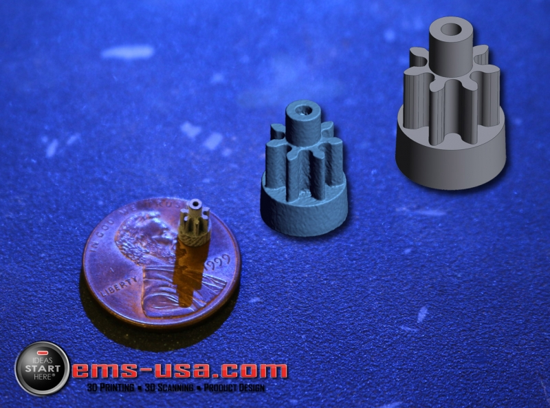 Reverse engineering of a small gear