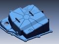 Lamborghini Huracan oilpan 3D scan data