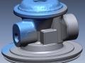 3D Scan data overlaid on final CAD model
