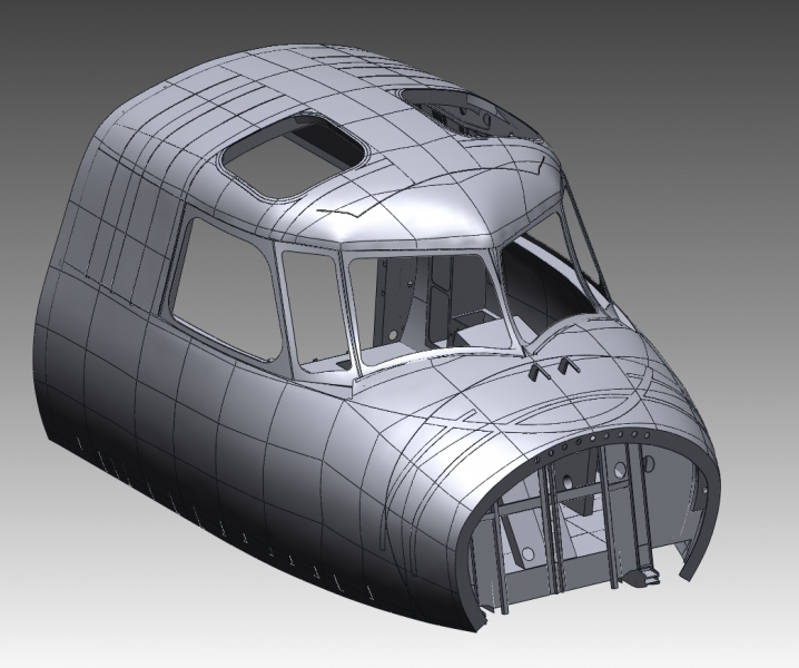 Build high quality CAD models from scan data