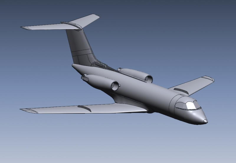 CAD model for CFD applications