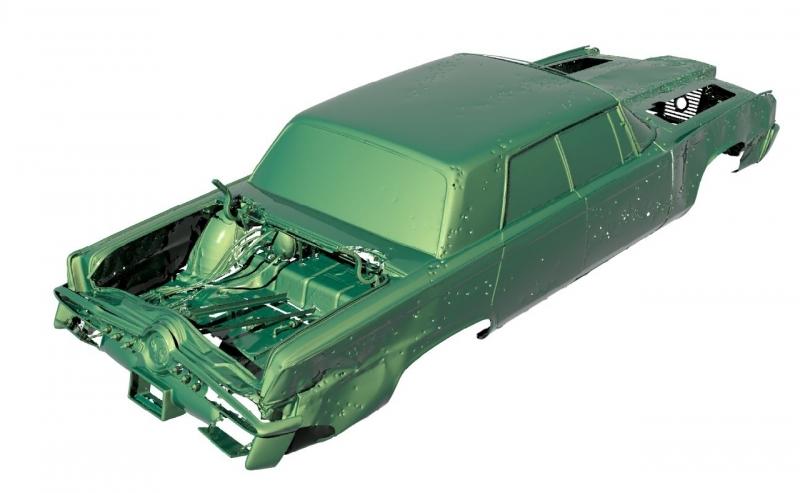 3D scanning of the Green Hornet
