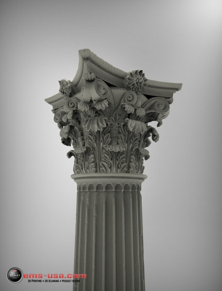 Un-edited 3Dscan data - notice the incredible resolution and detail