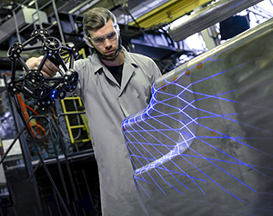 metrascan3d industrial scanning shiny part1 small MetraSCAN 3D